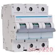 Автоматический выключатель 125 А, 3 полюса, С, HLF399S Hager