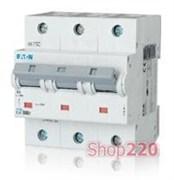 Автоматический выключатель Moeller PLHT С 100A 3пол. PLHT-C100/3