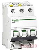 Автоматический выключатель ACTI 9, 63A тип C, трехполюсный, iC60N A9F79363 Schneider