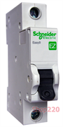 Автомат 20 А, 1 полюс, тип С, EZ9F34120 Schneider Easy9