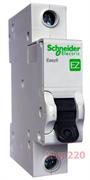 Автомат 50 А, 1 полюс, тип С, EZ9F34150 Schneider Easy9
