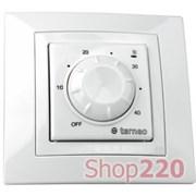 Термостат для теплого пола terneo rtp, белый