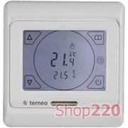 Сенсорный терморегулятор terneo sen, белый