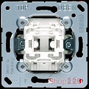 Выключатель проходной 1-клавишный (механизм), Jung A500 506u