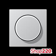 Накладка светорегулятора, алюминий, Jung A500 A1540AL