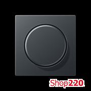 Накладка светорегулятора, антрацит матт, Jung A500 A1540BFANM