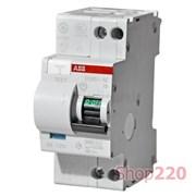 Дифавтомат 40А, 30мА, уставка B, ABB DS951AC-B40/0,03A