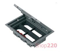 Напольный лючок для розеток, 16 модулей, OptiLine 45 ISM50638 Schneider Electric