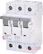 Автоматический выключатель 4А, 3 полюса, тип C, Eti 2145510