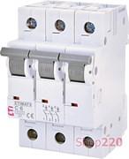 Автоматический выключатель 6А, 3 полюса, тип C, Eti 2145512