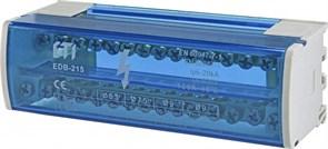 Блок распределительный на din-рейку 125А, 2 полюса, EDB-215 ETI 1102302