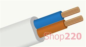 Провод ШВВП 2х2,5 кв мм, ЗЗЦМ