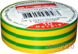 Изолента e.tape.stand.20.yellow-green, желто-зеленая (20м)