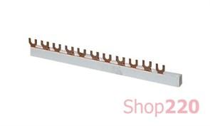 Гребенка соединительная 2-полюсная, 1 метр, e.bc.u.stand.2.63 s180002 Enext