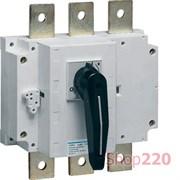 Выключатель нагрузки 160А корпусный, 3-х фазный, HA352 Hager