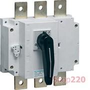 Выключатель нагрузки 250А корпусный, 3-х фазный, HA354 Hager