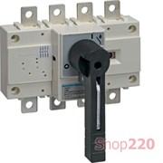 Выключатель нагрузки 125А корпусный, 3 фазы + ноль, HA451 Hager