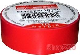 Изолента самозатухающая, 10м, красная, e.tape.pro.10.red Enext p0450001