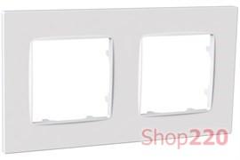 Рамка двойная NORDIC, белый, PLK1020032 Plank Electrotechnic