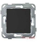 Выключатель одноклавишный, антрацит, PLK0111241 Plank Electrotechnic