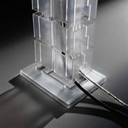 Гибкий кабель-канал, алюминий, Brick ASA 010.130.00001