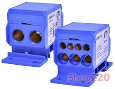 Блок распределительный на din-рейку 160А, 1 полюс, EDBM-1/N, ETI 1102410