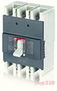 Автоматический выключатель 200А, FormulA A2B 250 TMF 200-2000 3p F F, ABB 1SDA066551R1