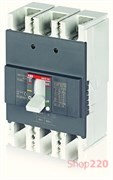 Автоматический выключатель 160А, FormulA A2B 250 TMF 160-1600 3p F F, ABB 1SDA066549R1