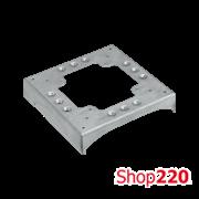 Основа для ввода напольного короба 2x85/18 и 2x130/18*180гр для башенок KT, Simon KTA822/8